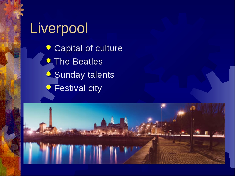 Liverpool Capital of culture The Beatles Sunday talents Festival city