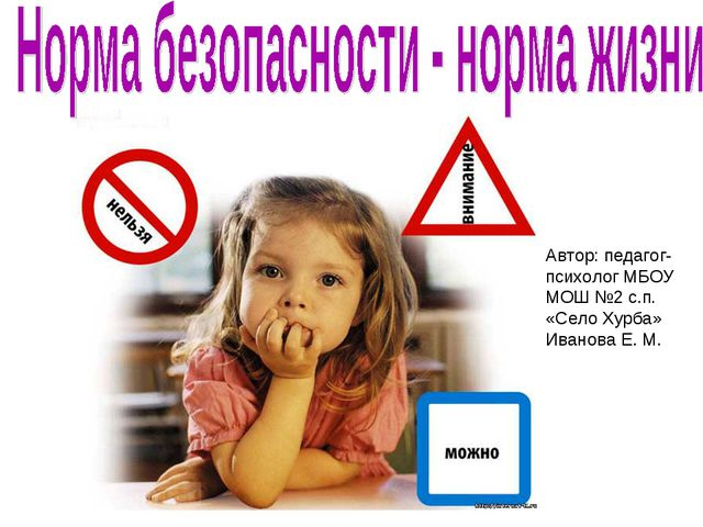Автор: педагог-психолог МБОУ МОШ №2 с.п. «Село Хурба» Иванова Е. М.