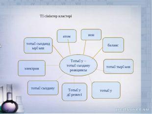 Тотығу –тотықсыздану реакциясы ион баланс тотықтырғыш тотығу Тотығу дәрежесі