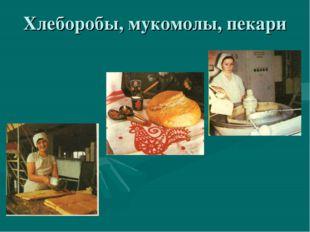 Хлеборобы, мукомолы, пекари