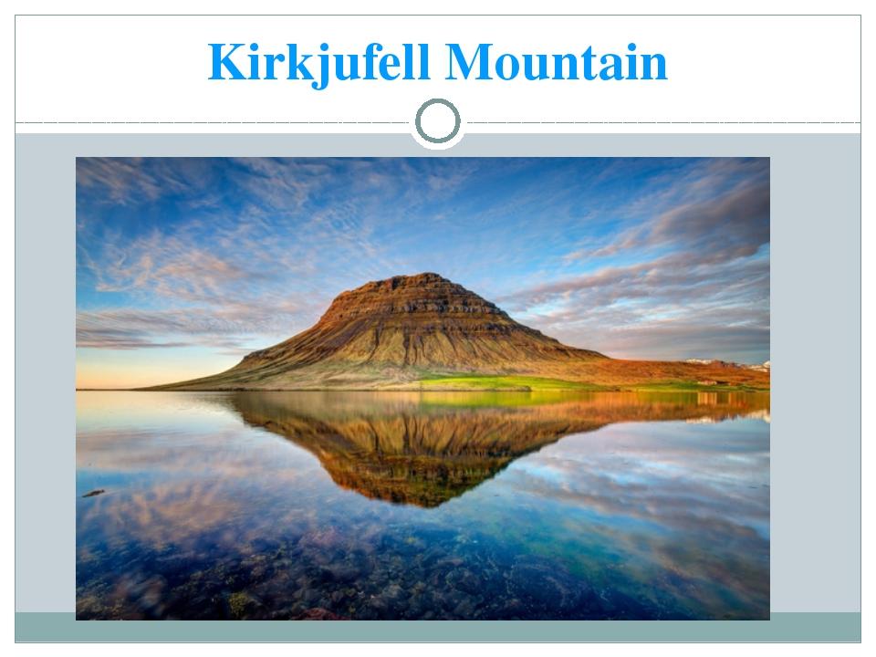 Kirkjufell Mountain