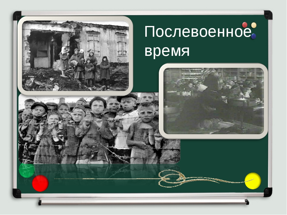 Послевоенное время