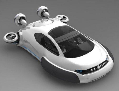 Автомобиль на воздушной подушке