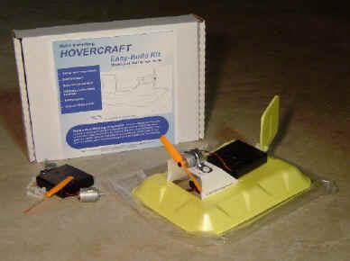 Простая модель судна на воздушной подушке своими руками