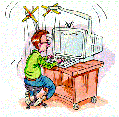 Описание: Компьютерная зависимость или компьютерное рабство Сосед-Домосед
