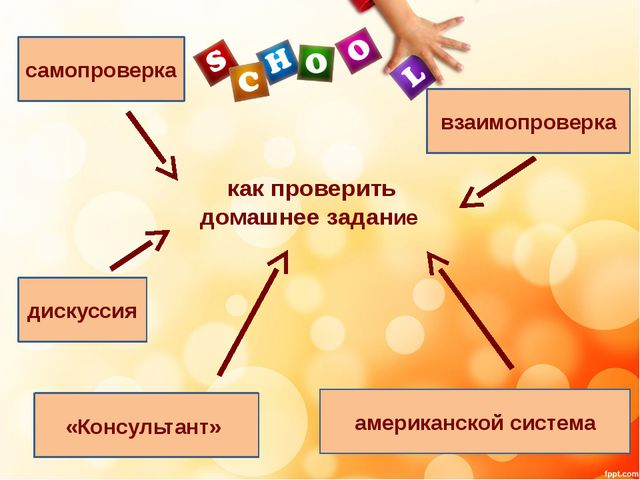 как проверить домашнее задание самопроверка взаимопроверка дискуссия «Консуль...