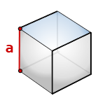 Расчет объема куба