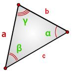 Найти площадь треугольника, угол и две стороны