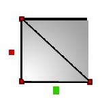 Площадь прямоугольного треугольника по катетам