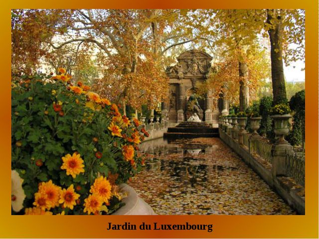 Jardin du Luxembourg
