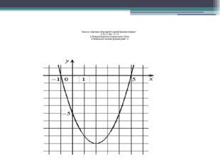 Перечислите свойства функции 1. Область определения функции 2.Промежутки моно