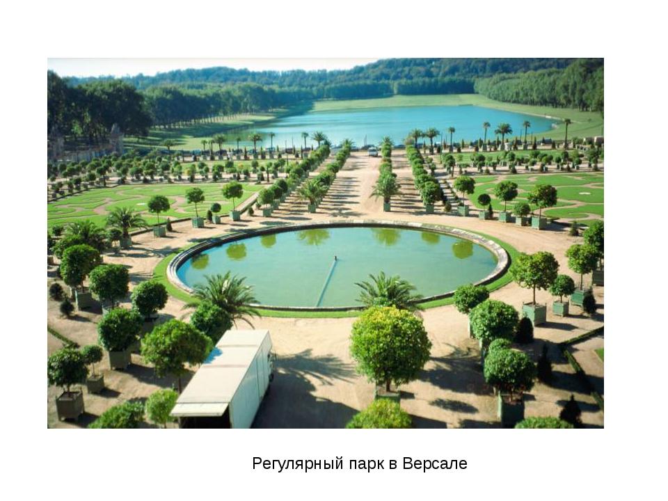 Регулярный парк в Версале