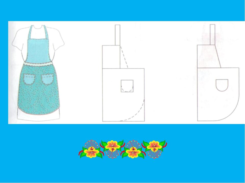Дизайн фартуков рисунок