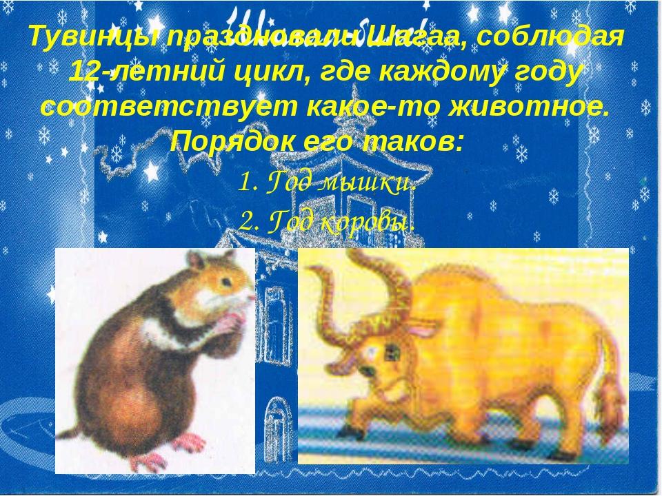Тувинцы праздновали Шагаа, соблюдая 12-летний цикл, где каждому году соответс...