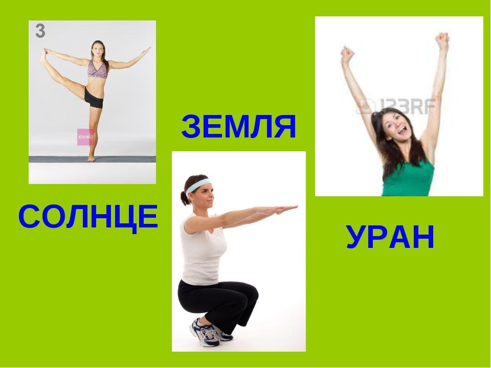 УРАН ЗЕМЛЯ СОЛНЦЕ