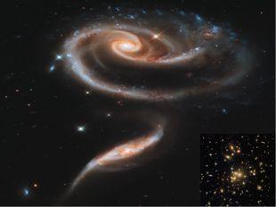 Галактика это огромное скопление звезд