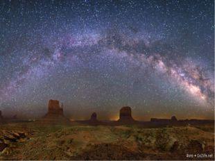 Наша галактика носит название Млечный путь