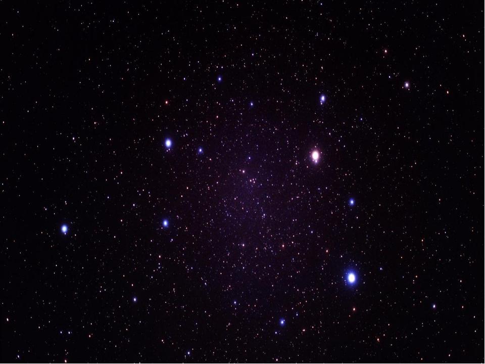 Затем появились звезды