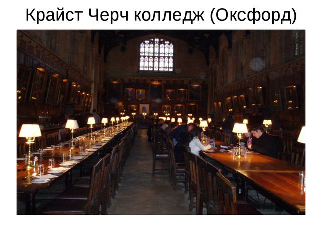 Крайст Черч колледж (Оксфорд)