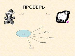 ПРОВЕРЬ медведь баран мед