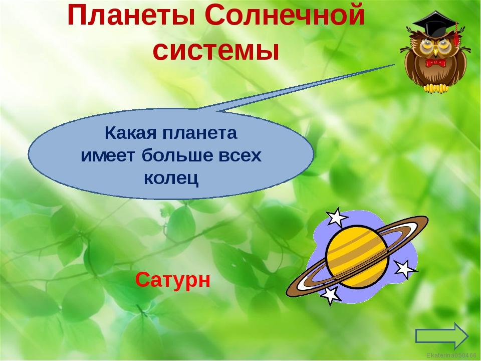 Какая планета имеет больше всех колец Сатурн Планеты Солнечной системы Ekater...
