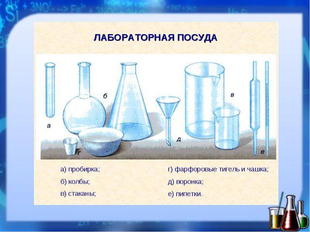 Правило №6 Чтобы опыт получился, Пользуйся посудой чистой!