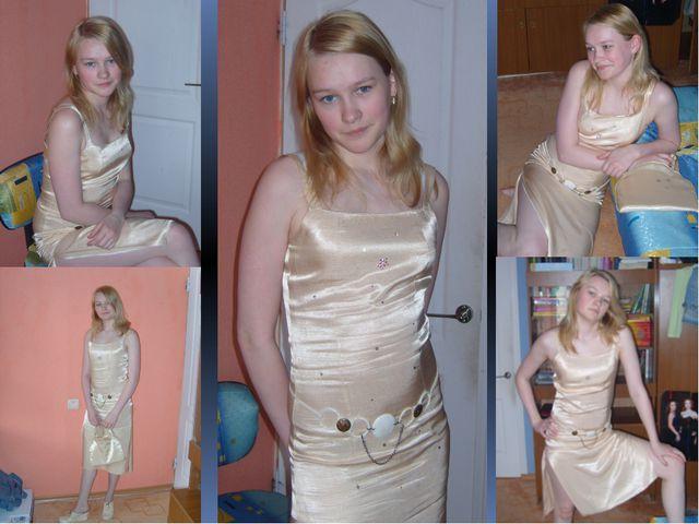 Построение чертежа (3-го платья)