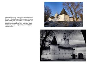 Андро́ников монасты́рь (Спасо-Андроников, Свято-Андроников, Андроников Неруко