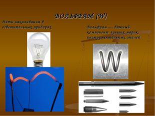 Нити накаливания в осветительных приборах Вольфрам — важный компонент лучших