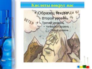 Кислоты вокруг нас ProPowerPoint.Ru