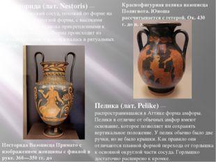 Несторида (лат. Nestoris) — древнегреческий сосуд, похожий по форме на амфор