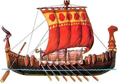 18-russianfightingladyaРусская боевая ладья (лодья)
