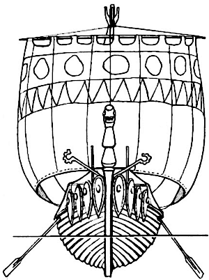 18-russianfightingladya02Русская боевая ладья (лодья)