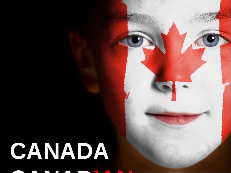 CANADA CANADIAN