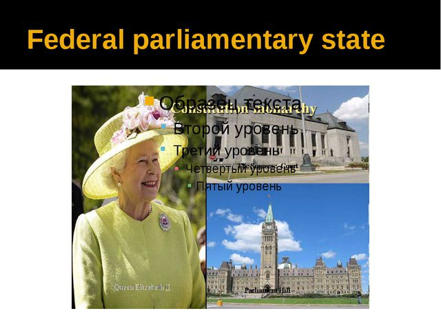 Federal parliamentary state