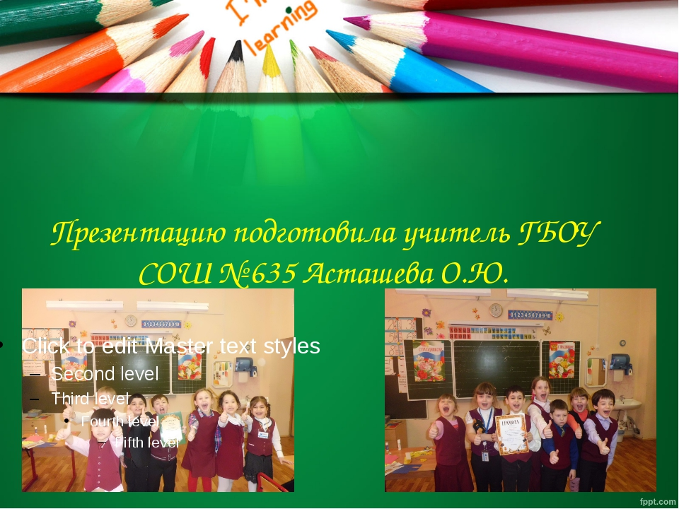 Презентацию подготовила учитель ГБОУ СОШ № 635 Асташева О.Ю.