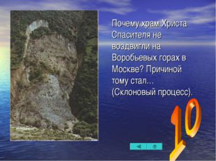 Почему храм Христа Спасителя не воздвигли на Воробьевых горах в Москве? Причи