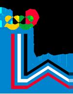 Эмблема зимних Олимпийских игр 1980 года