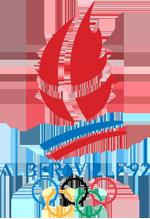 Эмблема зимних Олимпийских игр 1992 года