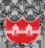 Эмблема зимних Олимпийских игр 1976 года