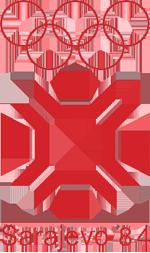 Эмблема зимних Олимпийских игр 1984 года