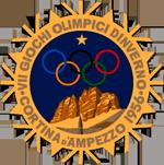 Эмблема зимних Олимпийских игр 1956 года