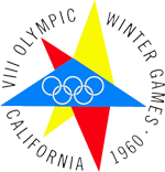 Эмблема зимних Олимпийских игр 1960 года