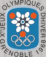 Эмблема зимних Олимпийских игр 1968 года