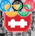 Эмблема зимних Олимпийских игр 1964 года