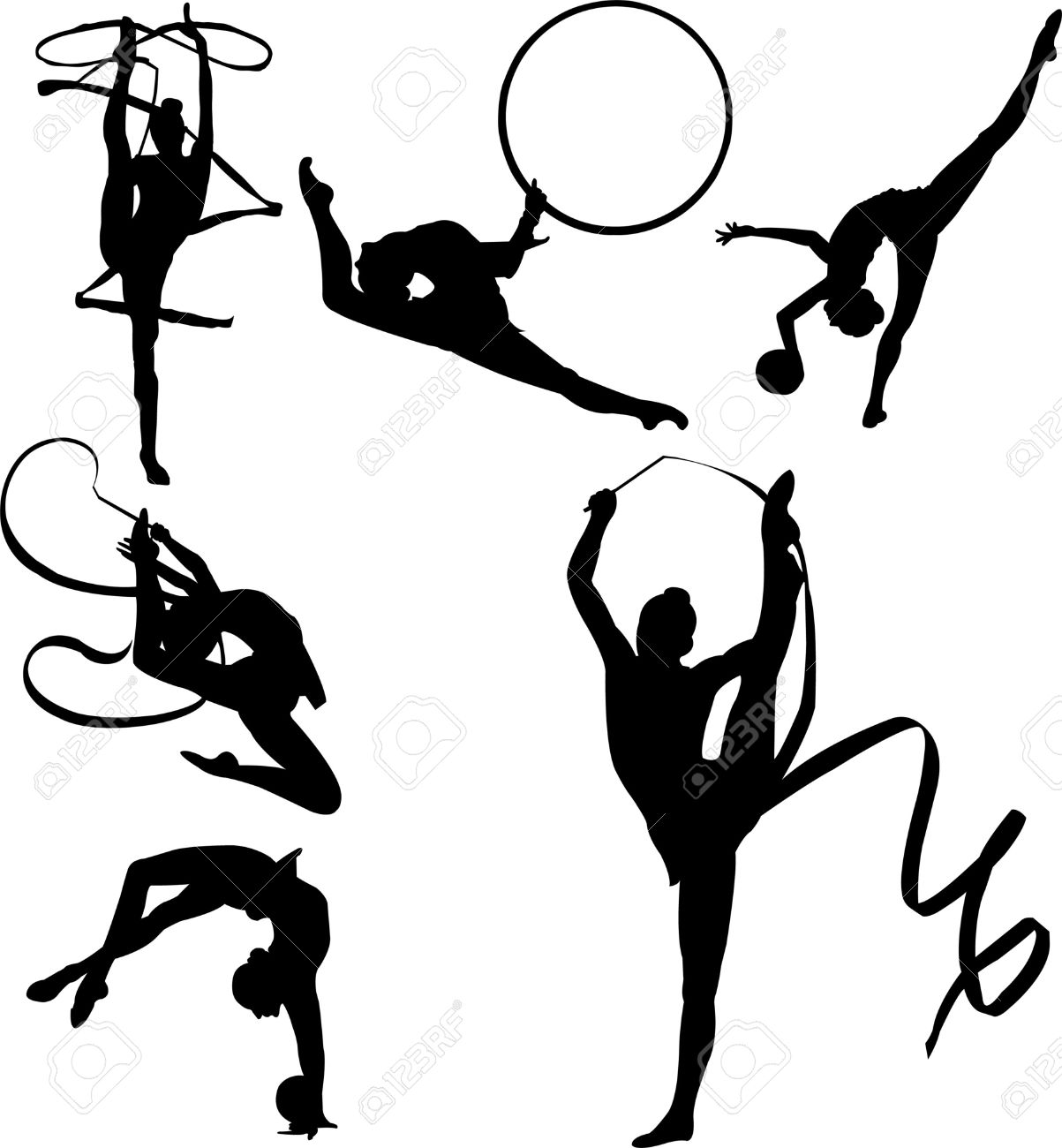 http://previews.123rf.com/images/dazdraperma/dazdraperma0909/dazdraperma090900035/5514008-Vector-silhouettes-of-six-rhythmic-gymnasts-with-apparatus-including-ribbon-and-ball-Stock-Vector.jpg