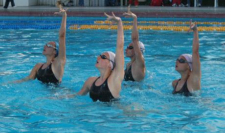 Водная гимнастика. Плавание