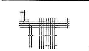 Разметка электропроводки изолированными проводами на роликах