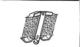 Установка крюка У625 для подвески светильника к перекрытиям из сплошных плит