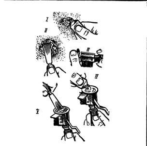 Нанесение клея на поверхности основания и детали